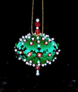 Make Beaded Ornaments Tutorial Crafters Kingdom