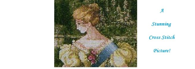 Lavender & Lace QUEEN ANNE'S LACE Cross Stitch Pattern