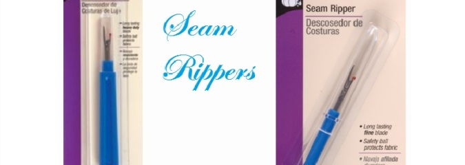 Seam Rippers