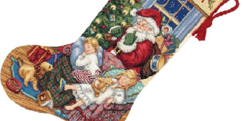 Cross Stitch Stocking Kits