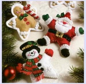 Felt Ornament Kits