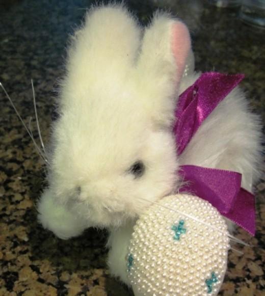Beaded Easter Eggs Tutorial