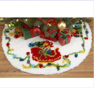 Latch Hook Kits - Tree skirts