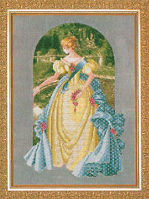 Queen Annes Lace Cross Stitch Pattern
