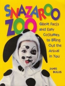 Make Your Own Halloween Costume with Snazaroo Zoo Book