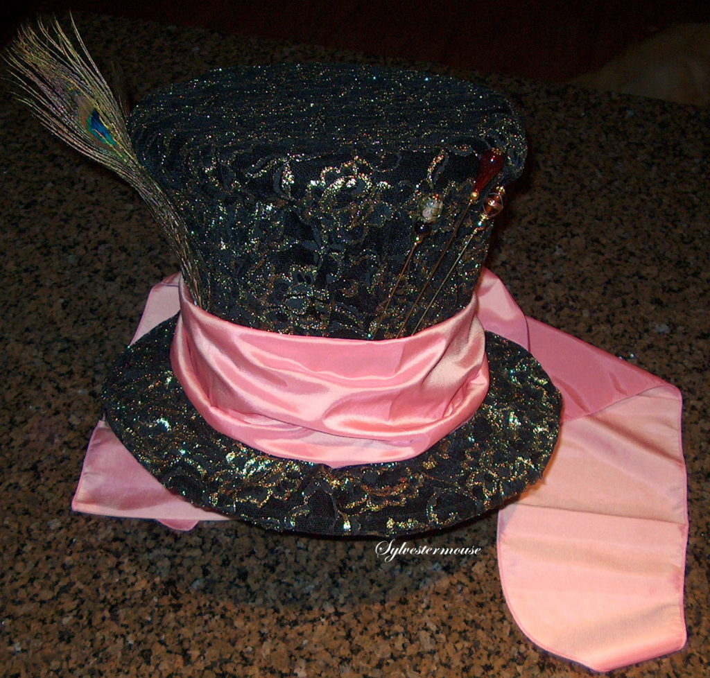 Mad Hatter's Top Hat DIY Instructions