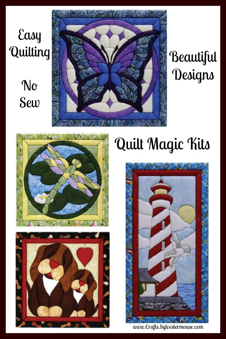 No Sew Quilting with Quilt Magic Kits