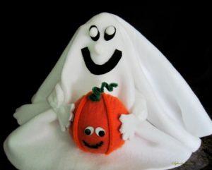 DIY Fleece Halloween Ghost