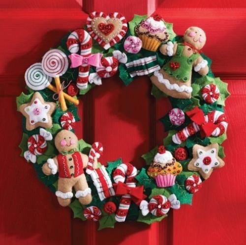 Holiday: Christmas Felt Kits