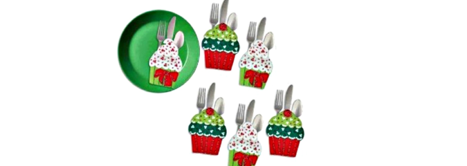 Felt Silverware Holder Pockets Kits