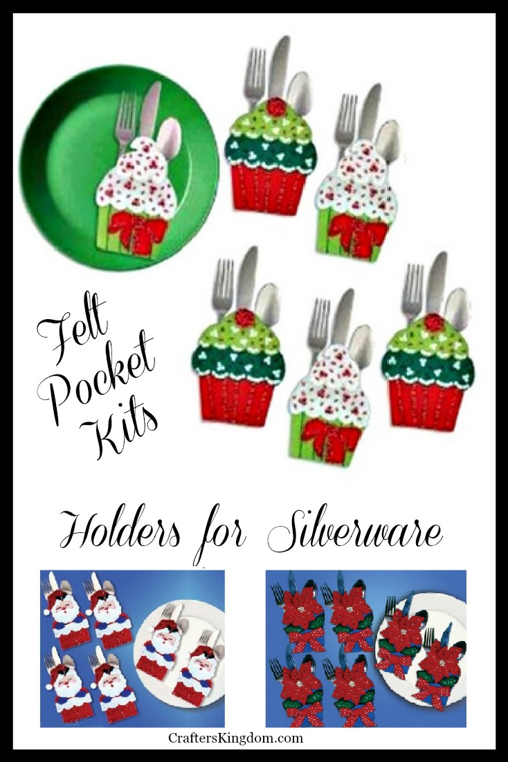 Felt Silverware Holders Kits