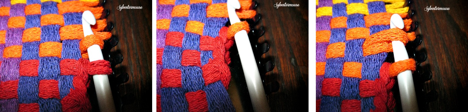 How to Finish a Potholder Edge